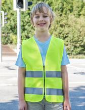 Kids´ Safety Vest With Zipper EN1150